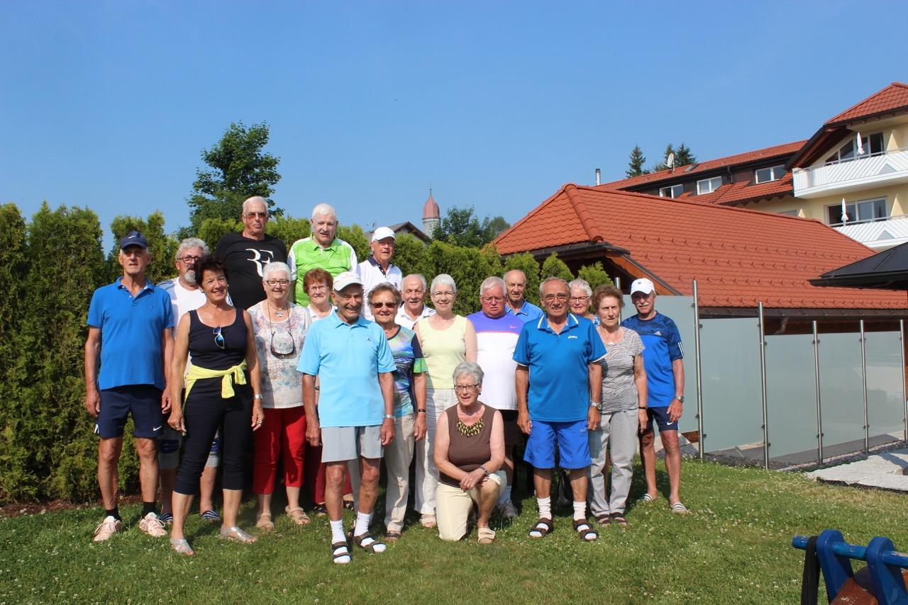 Gruppenfoto Aufenthalt Höchenschwand 2017